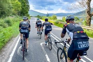 ACSO 3235: Royal Lancers cycle North Coast 500 route